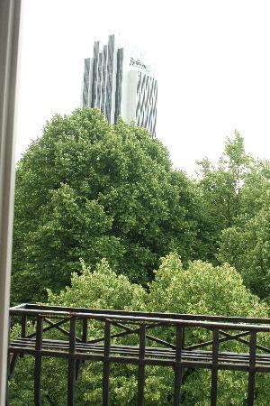 Hotel Preuss: View from balcony