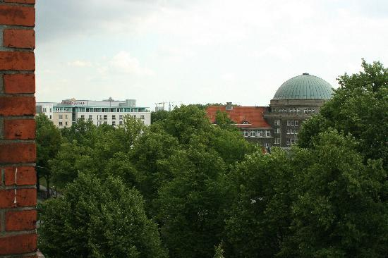 Hotel Preuss: Another view from balcony
