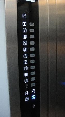 Troya Hotel: Elevator