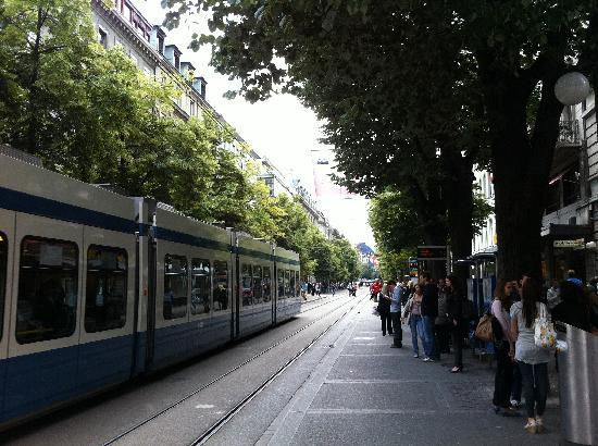 Zürich, Zwitserland: bahnhofstrasse