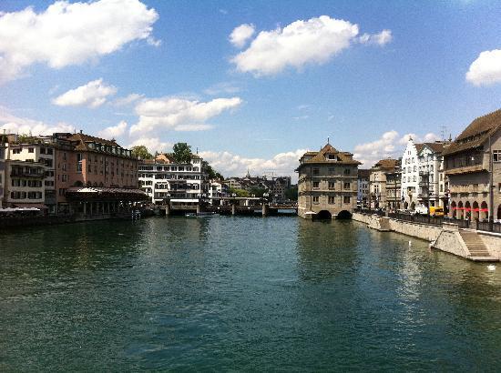 Zürich, Zwitserland: zum see