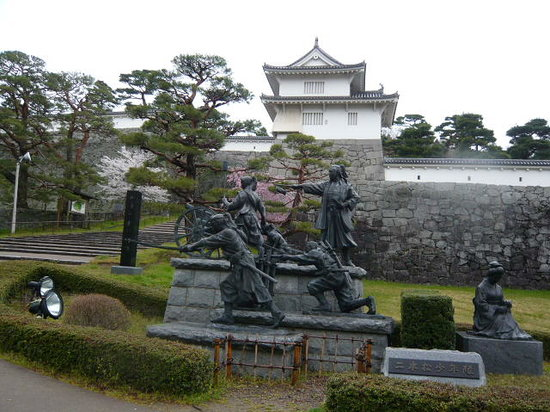 The ruins of Nihonmatsu Castle