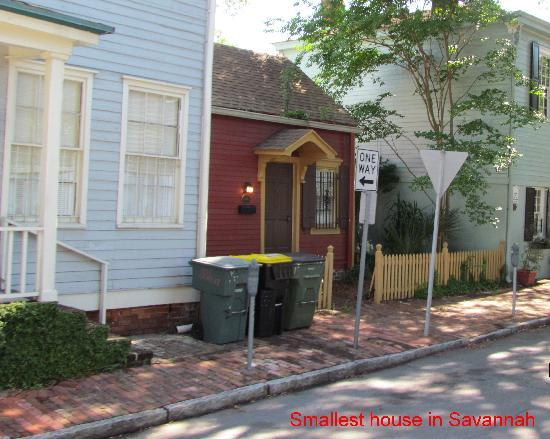 Savannah, Georgien: smallest house