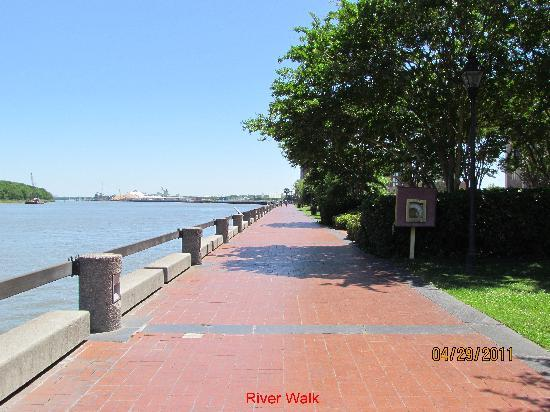 Savannah, Georgien: river walk