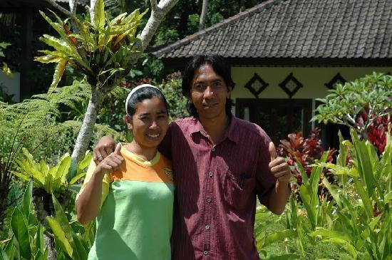 Great Mountain Views Villa Resort: GMV is managed by a lovely Balinese couple, Nyoman and Wayan