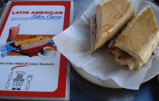Latin American Bayside Cafe : The famous sandwich