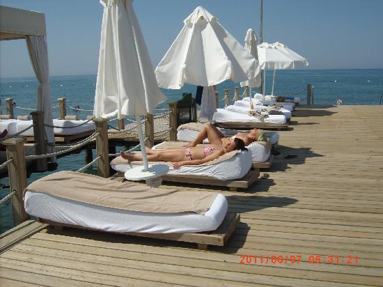 Voyage Belek Golf & Spa: Praia