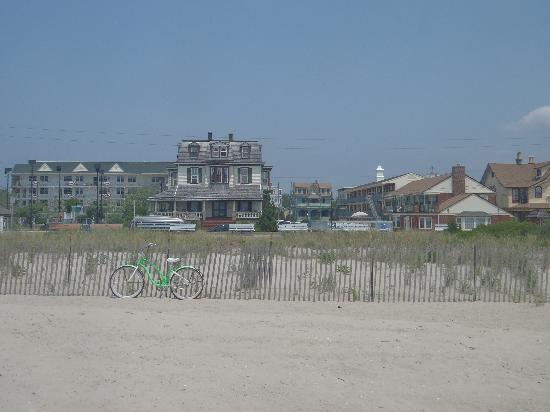 The Stockton Inns: Hotel view from the beach