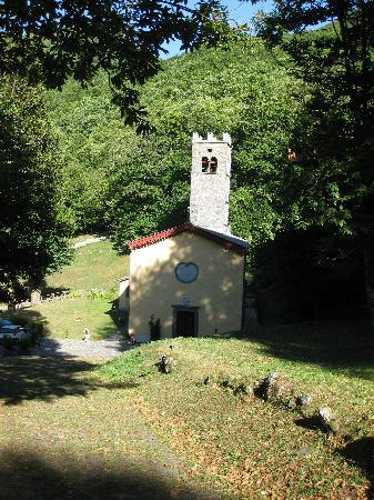 San Rocco in Turrite, Italy: Church at San Rocco