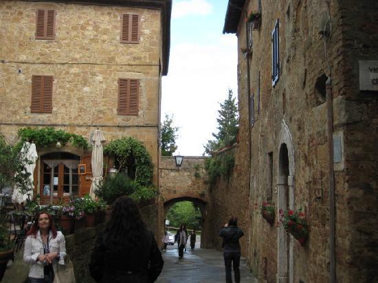 Pienza, Italien: ピエンツァの街