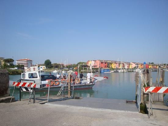 Caorle sul traghetto verso Porto S.Margherita