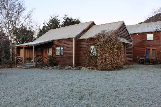 Manata Lodge: with snow