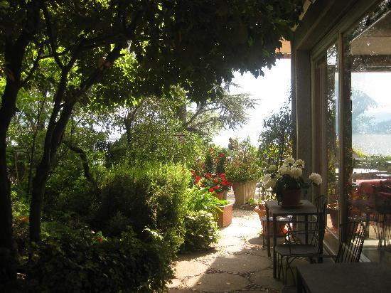 Bellano, อิตาลี: Gartenteil