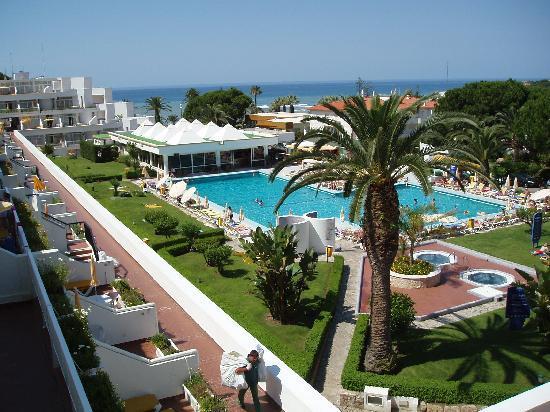 Clube Praia da Oura: view from balcony