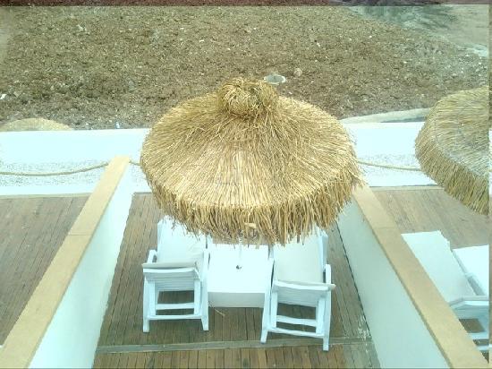 Manaspark Hotel Oludeniz: Patio outside family rooms