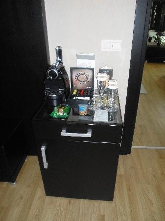 Barcelo Eresin Topkapi: una genial idea la máquina de café ya que el del desayuno está un poco aguado para mi gusto!