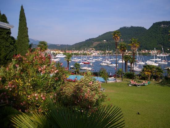 Hotel du Parc: Blich vom Frühstück auf den See