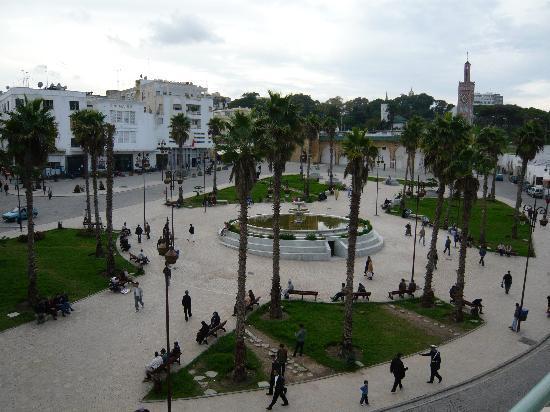 Les Passagers de Tanger: vue de la terrasse
