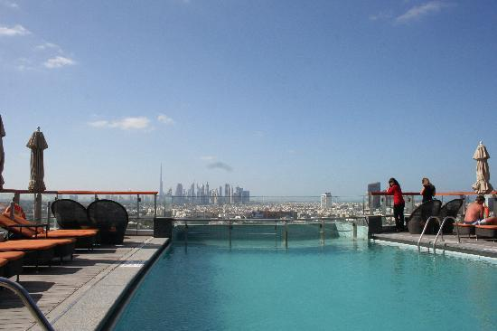 Hilton Dubai Creek: At the rooftop
