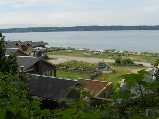Camano Island, WA: Cama from the trail