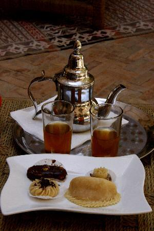 Riad Chbanate: Welcomed with mint tea and pastries