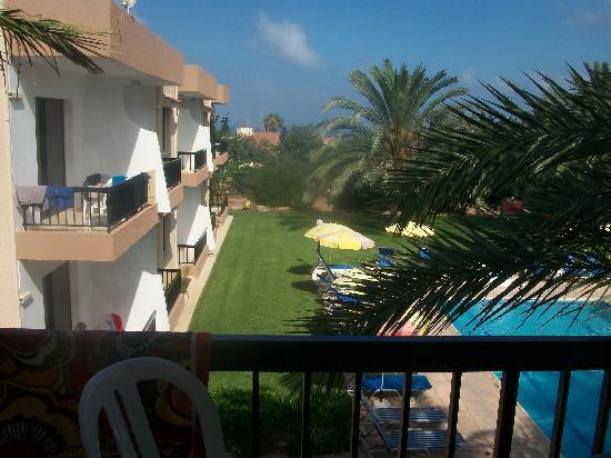 Hadjiantoni Anna Hotel Apartments: View from balcony