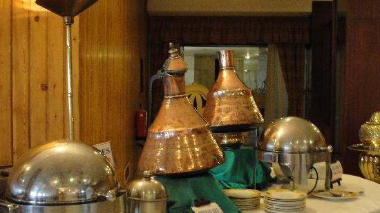 Eatabe Luxor Hotel: breakfast in Egyptian style