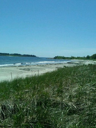 Crescent Beach State Park: over view of the beach area