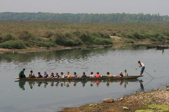 Chitwan National Park, Nepal: Canoe trip