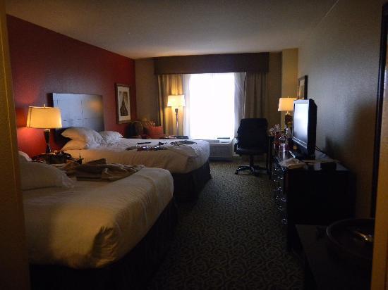 WinStar World Casino Hotel: Nice size room