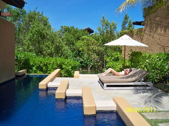 Banyan Tree Mayakoba: private pool
