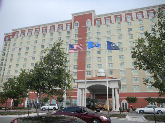 WinStar World Casino Hotel: hotel front