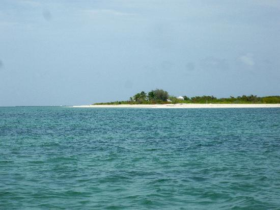 North Beach Island: North Beach in the distance