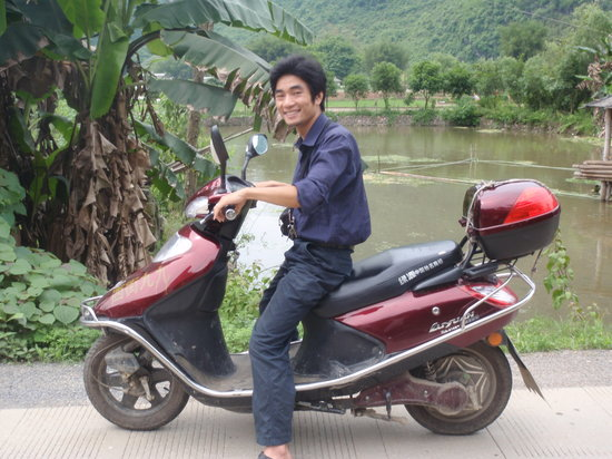 Yangshuo County, Chiny: Mark Chen - local guide