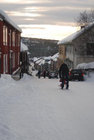 Sor-Trondelag, Norway: Roros city centre