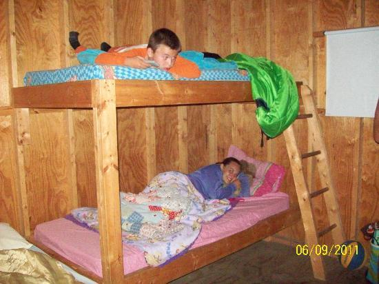 Camp Sandusky: The bunk beds!
