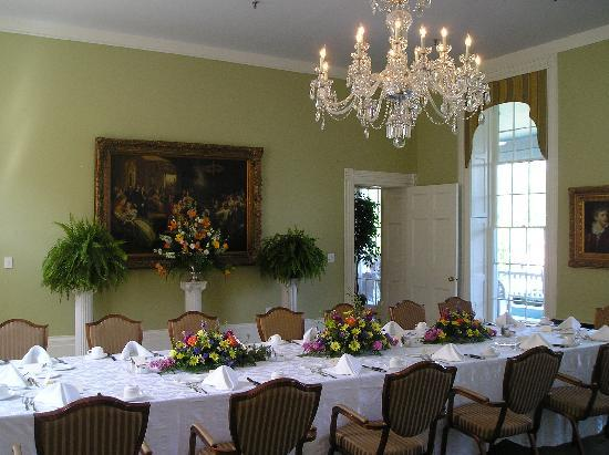 The Martha Washington Inn and Spa: special event dining