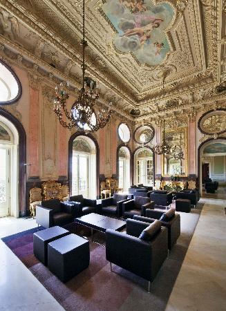 Pousada Palacio Estoi: Living room