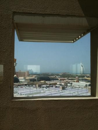 Citymax Al Barsha: view from the gym window