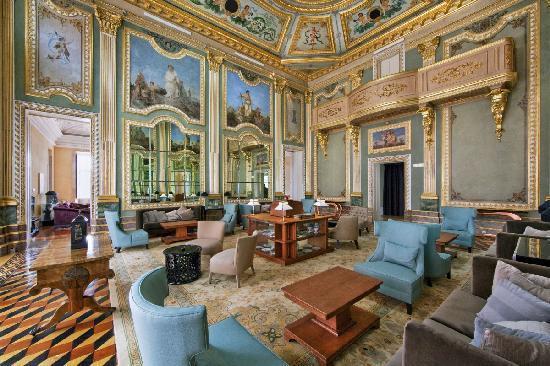 Pestana Palácio do Freixo: Living room