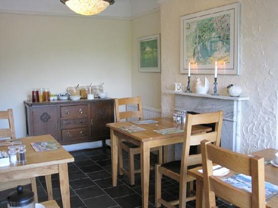 Aberconwy House: Breakfast room