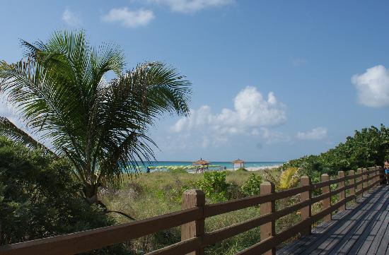Miami Beach, FL: View from Boardwalk
