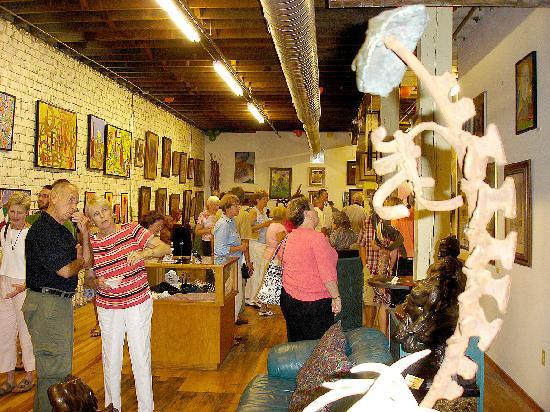 Visit Bucktown Center for the Arts in downtown Davenport