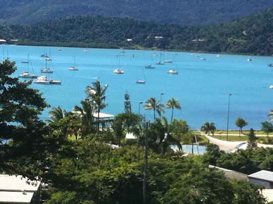 Waterview Airlie Beach: view from the balcony