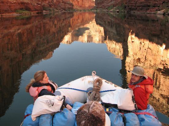 Arizona Raft Adventures: Just chillin