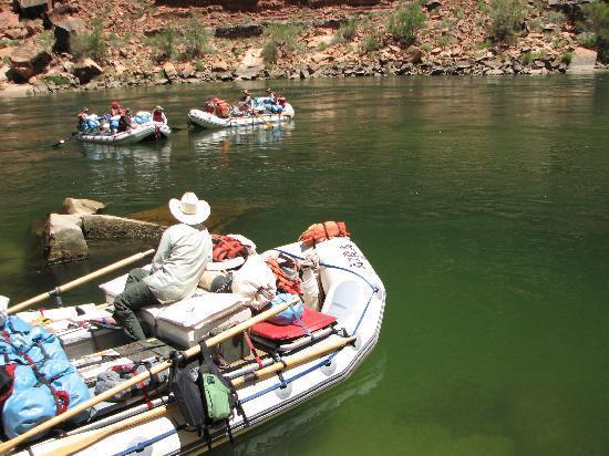 "Arizona Raft Adventures: ""Parking"""