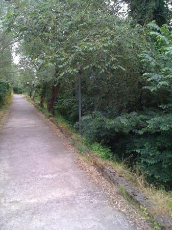 Villa Romita: Quiet path from the Villa into Sant'Agata