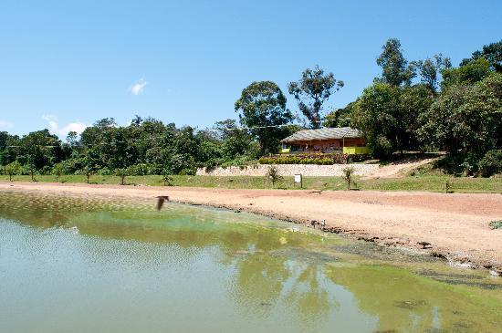Uganda Wildlife Education Centre: Restaurant/Cafe on Lake Victoria