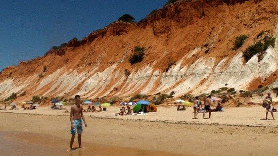 Olhos de Agua, Portugal: Praia Da falesia olhos d' agua