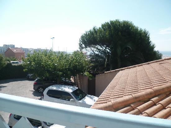 BEST WESTERN Paradou Mediterranee : vue du balcon chambre 121